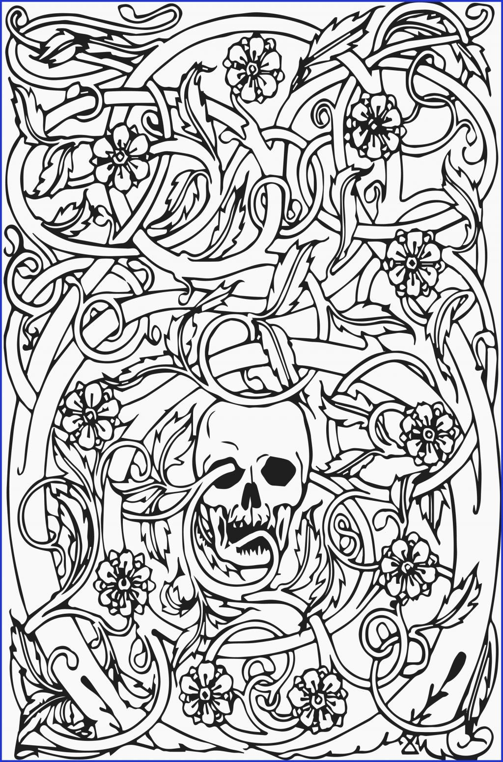 Art Therapy Coloring Book Pdf Skull Coloring Pages Halloween Coloring Book Cool Coloring Pages