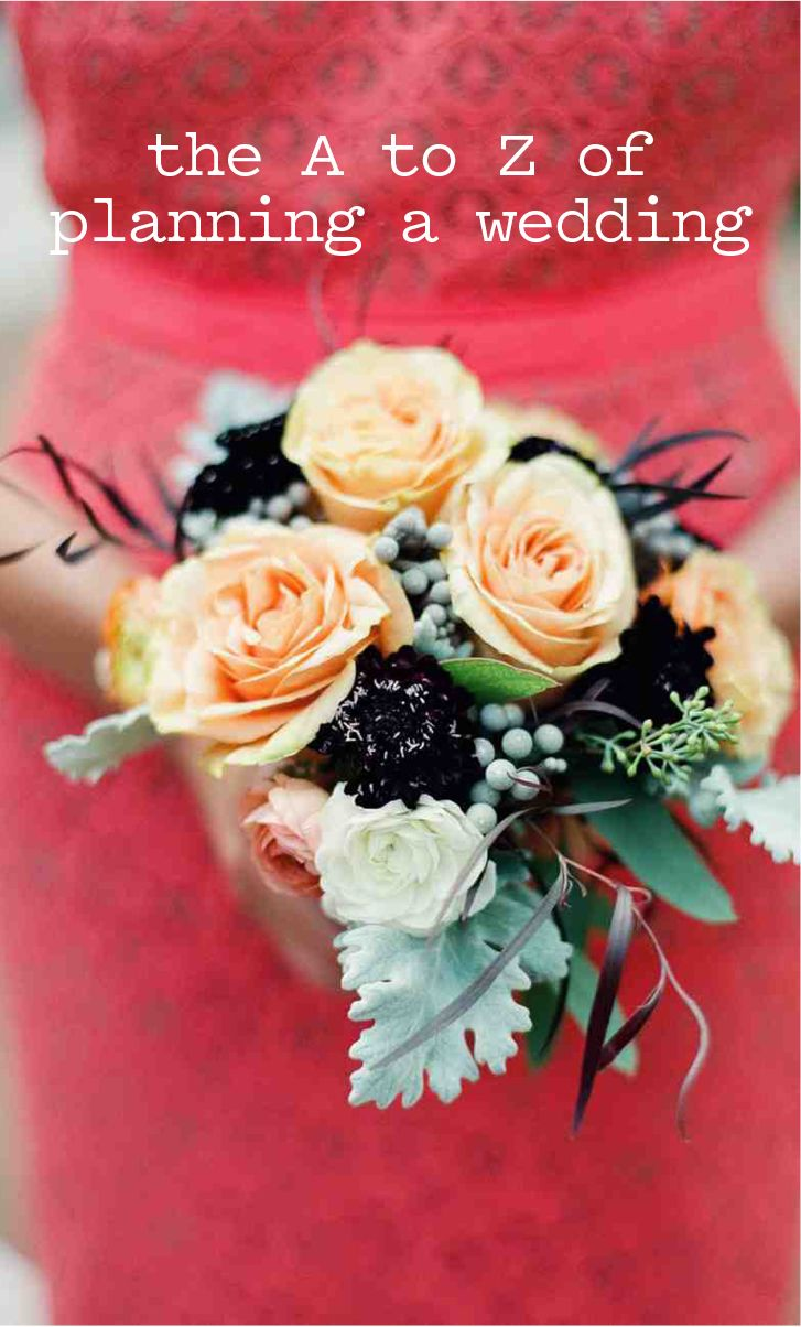 The A to Z of Planning a Wedding: A Glossary to Help You Master the ...