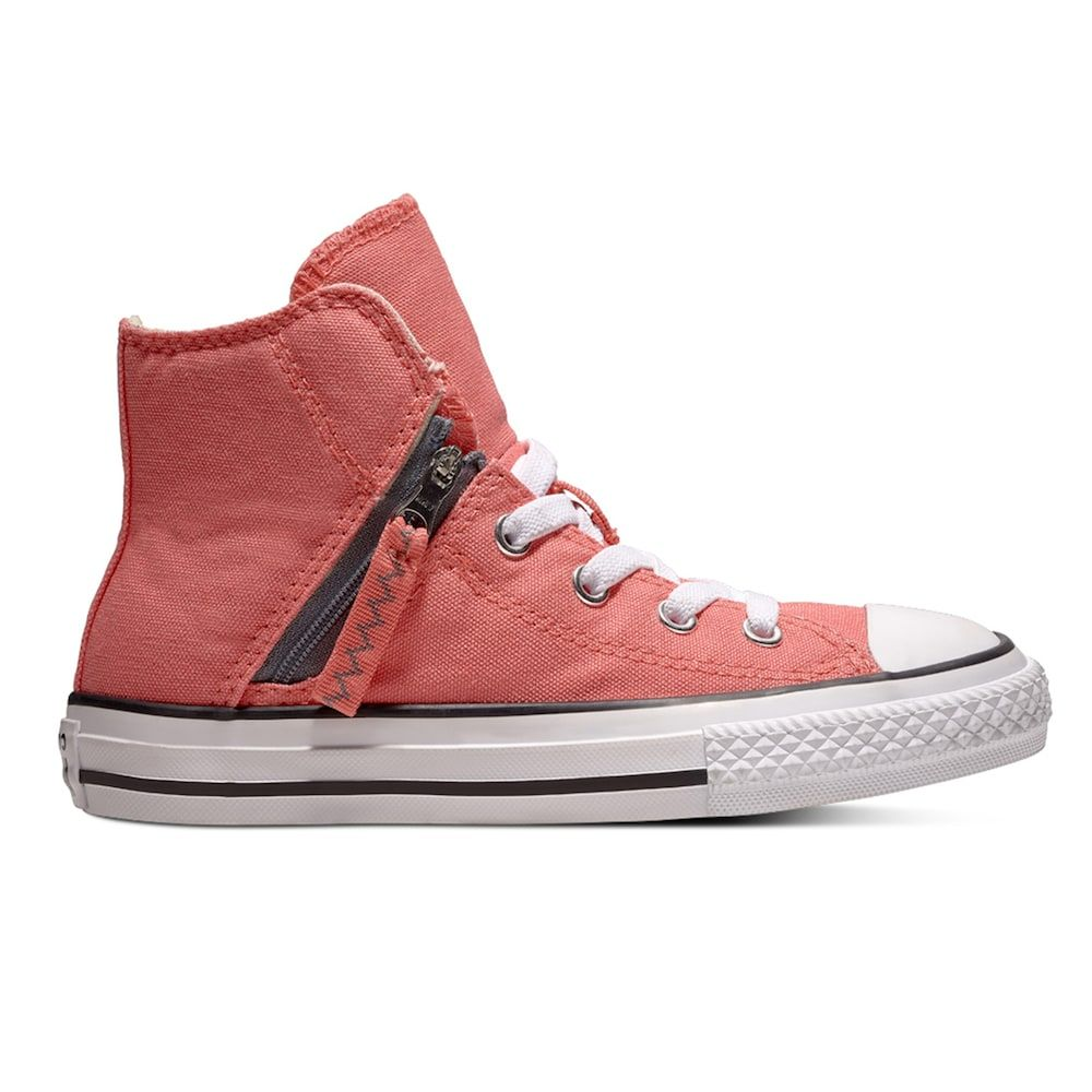 28ea2715e77458 Kids  Converse Chuck Taylor All Star Pull Zip High Top Shoes in 2018 ...