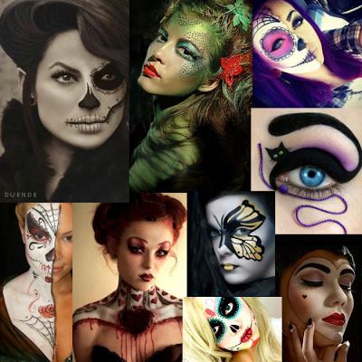 Blog / Hannah Elizabeth Pretty Halloween Makeup Ideas