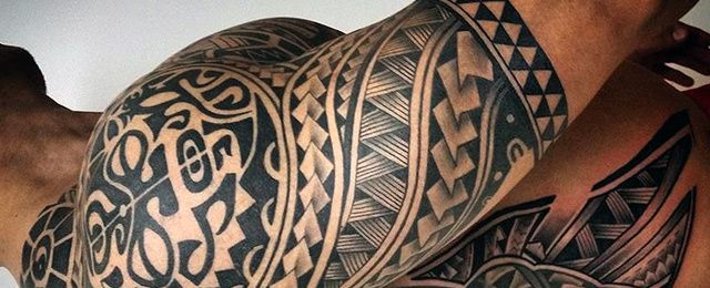 60 Tribal Dragon Tattoo Designs For Men Mythological Ink Ideas In 2020 Tribal Tattoos For Men Tribal Tattoos Half Sleeve Tribal Tattoos