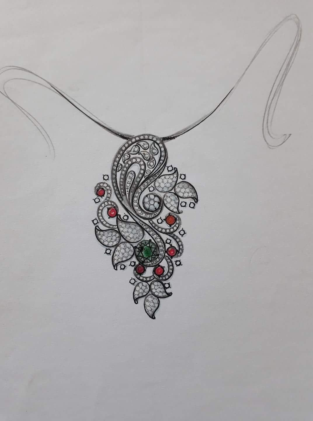 Pin By Satyanarayan Singh On Pendant Jewellery Sketches Jewelry