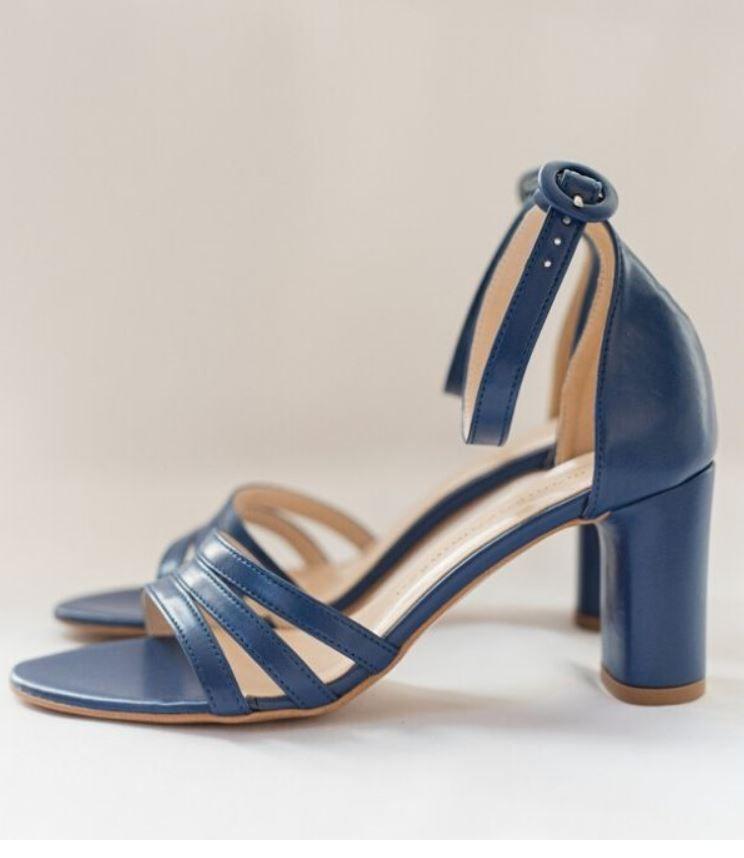 Niebieskie Sandalki Shoes Fashion Sandals
