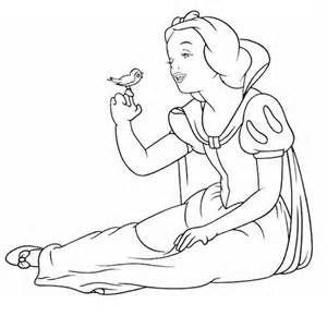 Coloriage Blanche Neige Maternelle.Blanche Neige Et Les Sept Nains Maternelle Dessins Bing Images