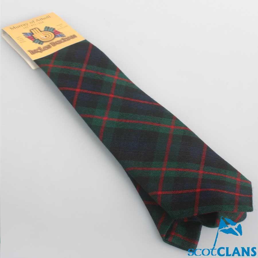 d457606a7a67 Murray Modern Tartan Tie | Clan Murray Products | Tartan tie, Wool ...