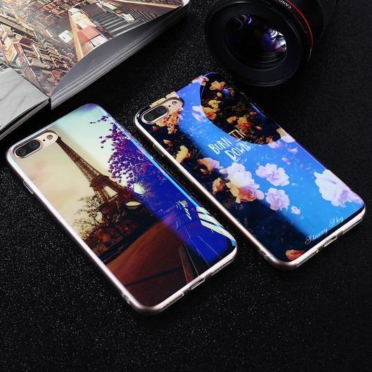 Modern Transparent Phone Cover