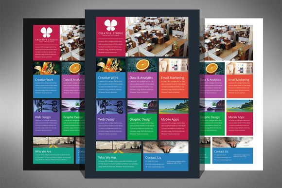 Check out Flat Design Metro Flyer Template by ultimatebundles on - microsoft templates for flyers