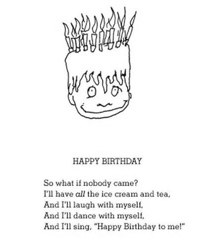 Shel Silverstein Poem Happy Birthday Silverstein Poems
