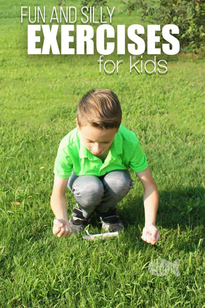 Encourage healthy kids with these silly and fun exercises for kids   kid fitness   kid exercise rout...