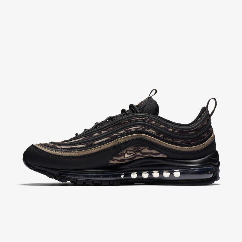 Release des Nike Air Max 97 Tiger Camo Black ist im März 2018. Bleibe mit 99kicks immer auf dem Laufenden was heiße Sneaker Releases angeht. #nike #airmax #nikeairmax #nikeairmax97 #follow4follow #TagsForLikes #photooftheday #fashion #style #stylish #ootd #outfitoftheday #lookoftheday #fashiongram #shoes #kicks #sneakerheads #solecollector #soleonfire #nicekicks