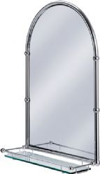 Burlington Bathrooms Arched Mirror With Shelf This Will Complement My Beau Traditional Bathroom Mirrors Victorian Bathroom Mirrors Bathroom Mirror With Shelf