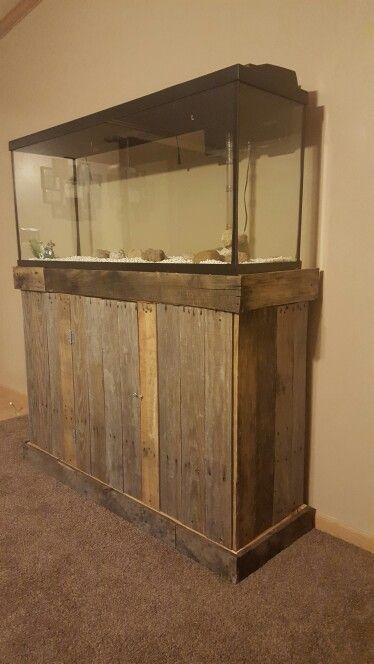 Attirant DIY Fish Tank Stand 55
