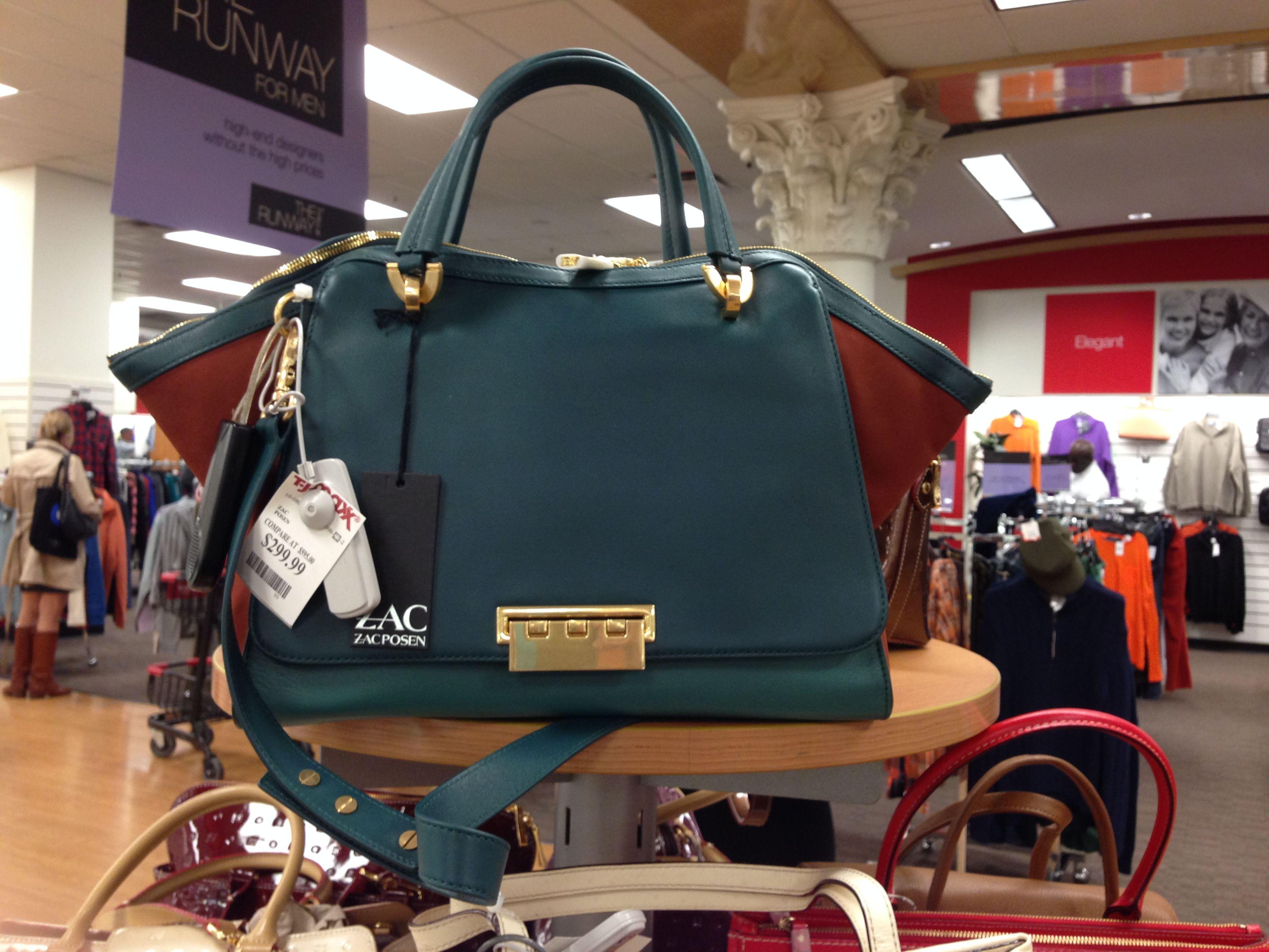 cbec34bba752 A Zac Posen bag for a steal in Manhattan... TJMaxx, 6th Ave ...