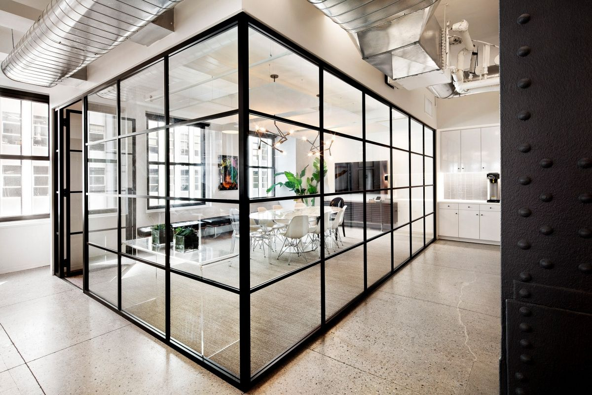 can an all glass fice building really be considered interior designer fees new york Nike Communications Offices - New York City - 10