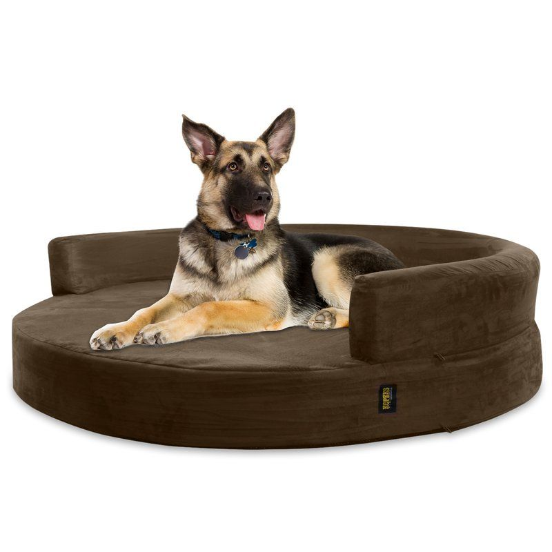Large Round Dog Bed Big Breed Dogs Pet Kennel Cushion Puppies Nursing Pups Welp Donut Dog Bed Majestic Pet Dog Bed