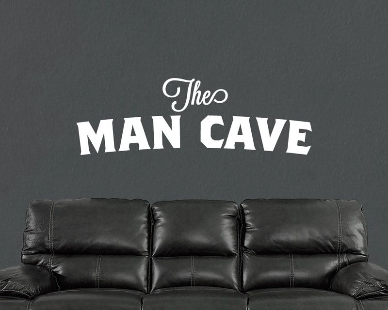 Cool Man Cave Wall Art : The man cave wall decal art decor