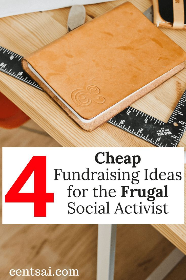 4 cheap fundraising ideas that you'll love | frugal living