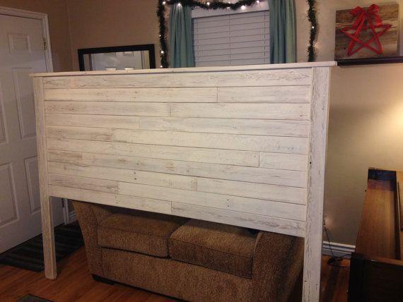 shiplap king headboard - Google Search - DIY Rustic Wood Headboard Headboard Pinterest Rustic Wood