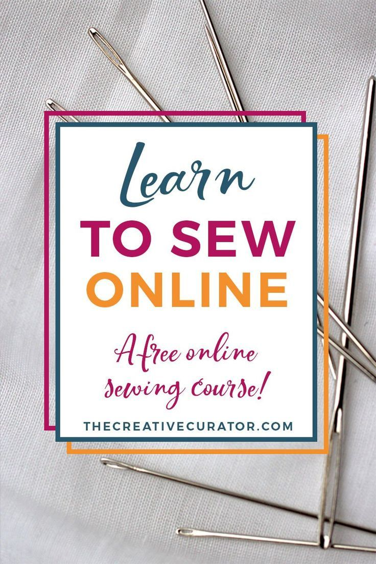 Learn To Sew: Free Sewing Course For Beginners - The Creative Curator
