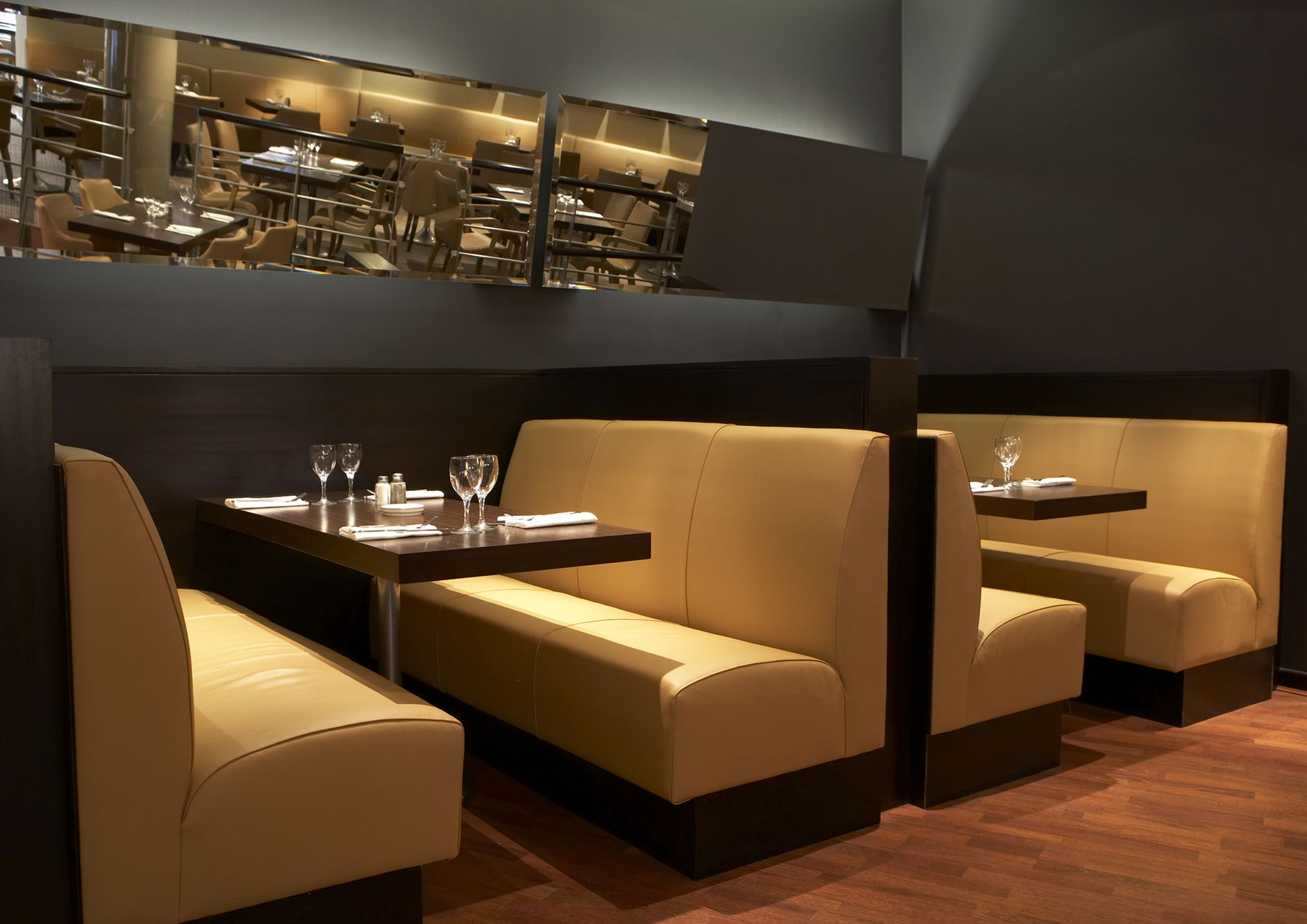 Captivating Banquette Seating Restaurants About Seater Restaurant