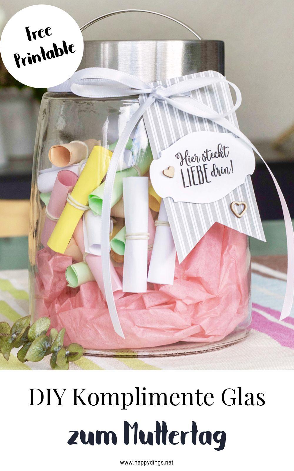 Geschenk zum Muttertag selber machen