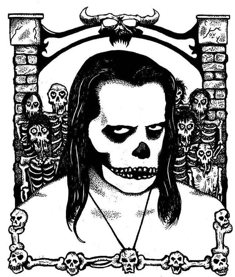 fred graves — #danzig #skeletons #danzigskeletons #skeletons...
