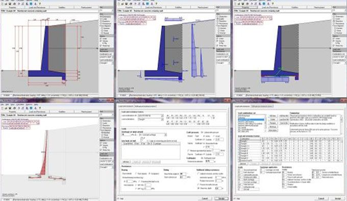 Dhani Irwanto Has Developed Retainwall It Is An Exclusive Software That Can Be Used For Making The Design Of Engineering Design Software Design Retaining Wall