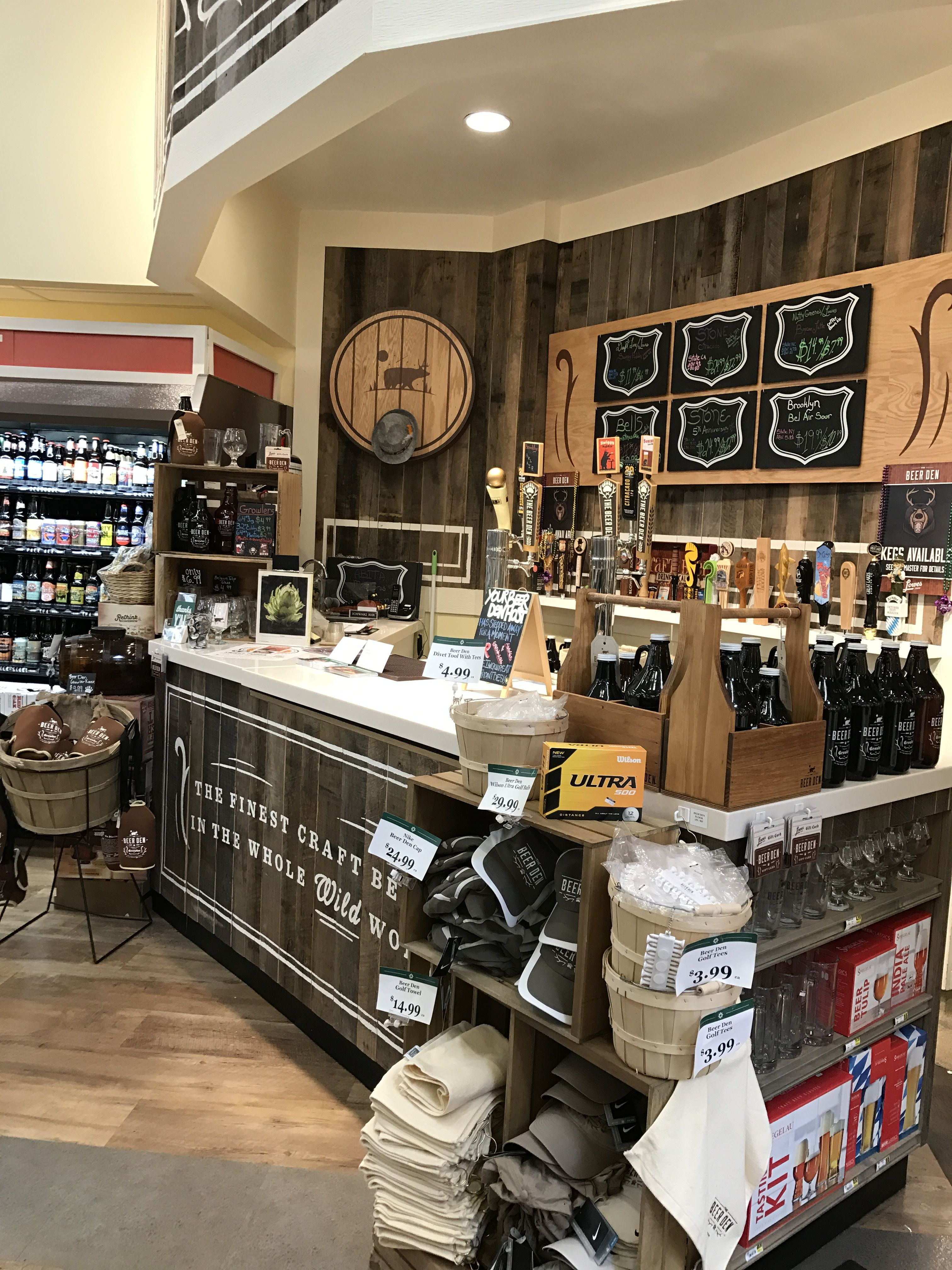 Stop by Lowes Foods Beer Den and get your Growler today
