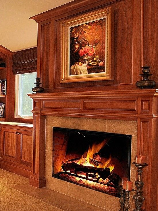 Traditional Family Room \