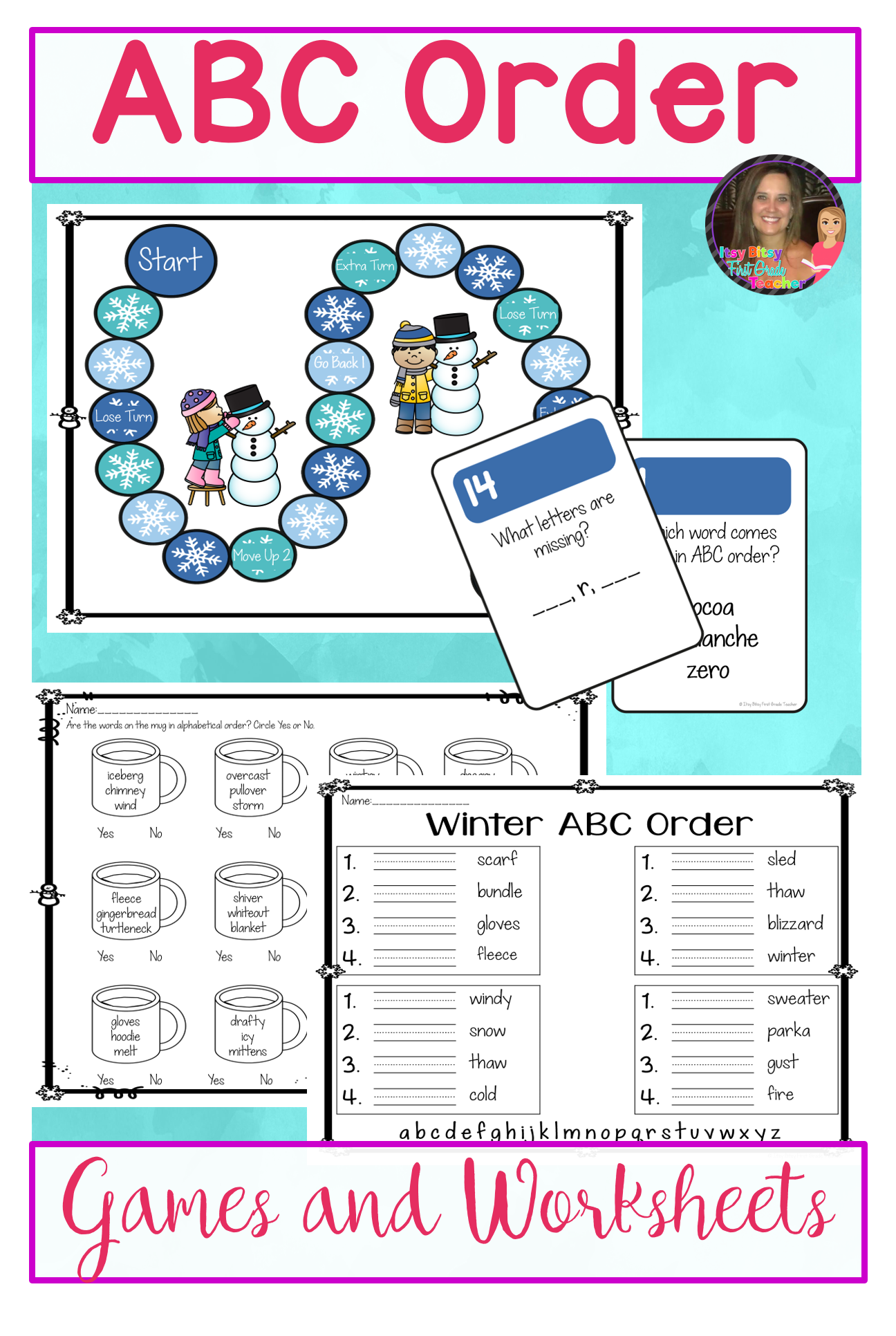 Alphabetical Order Worksheets And Games