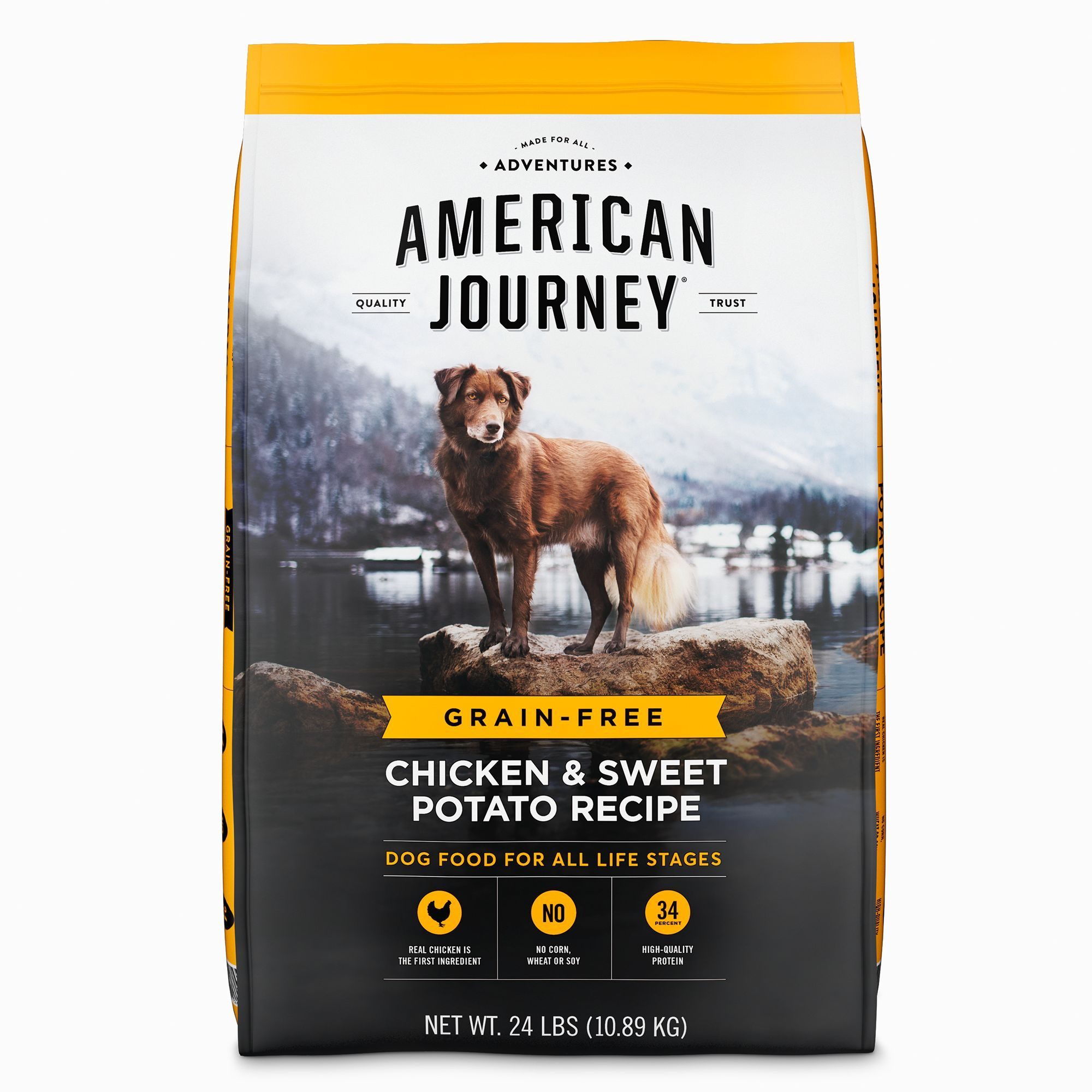 American Journey Dry Dog Food Natural Grain Free Chicken And