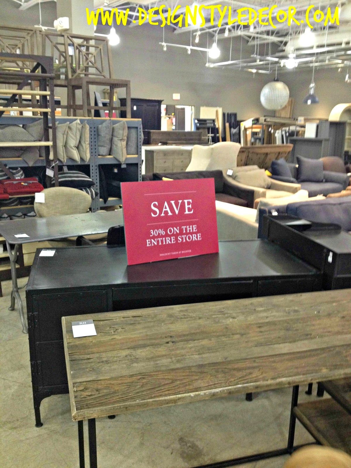 Restoration Hardware Outlet >> Restoration Hardware Outlet 30 Off Clearance Items Desks