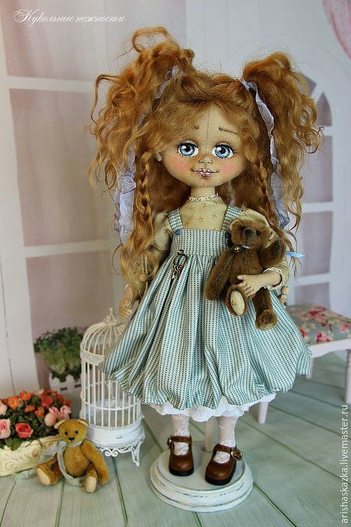 Аришa авторские куклы - Авторские куклы и мишки   OK.RU