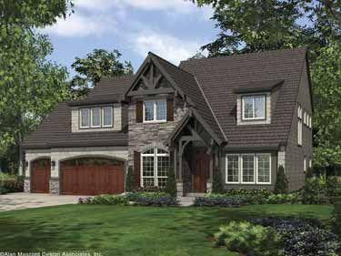 Five Bedroom Cottage...great floorplan. Definately want three car garage!