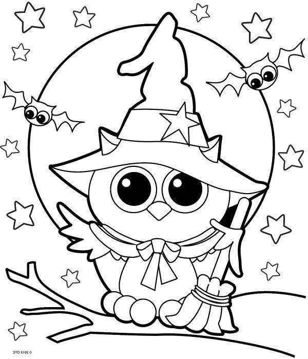 Halloween Printable Coloring Pages | Free halloween ...