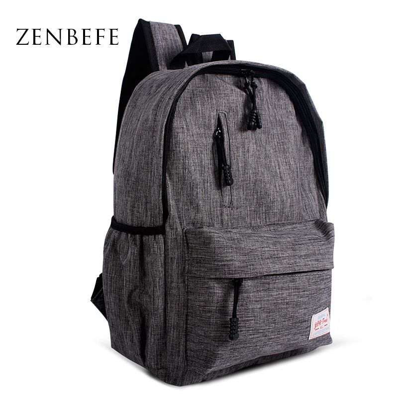 8b78710a42e3 ZENBEFE Linen Small Backpack Unisex School Bag For Teenage School Backpack  For Students Backpacks Rucksack Bookbags Travel Bag Online Order –  Wallreview ...