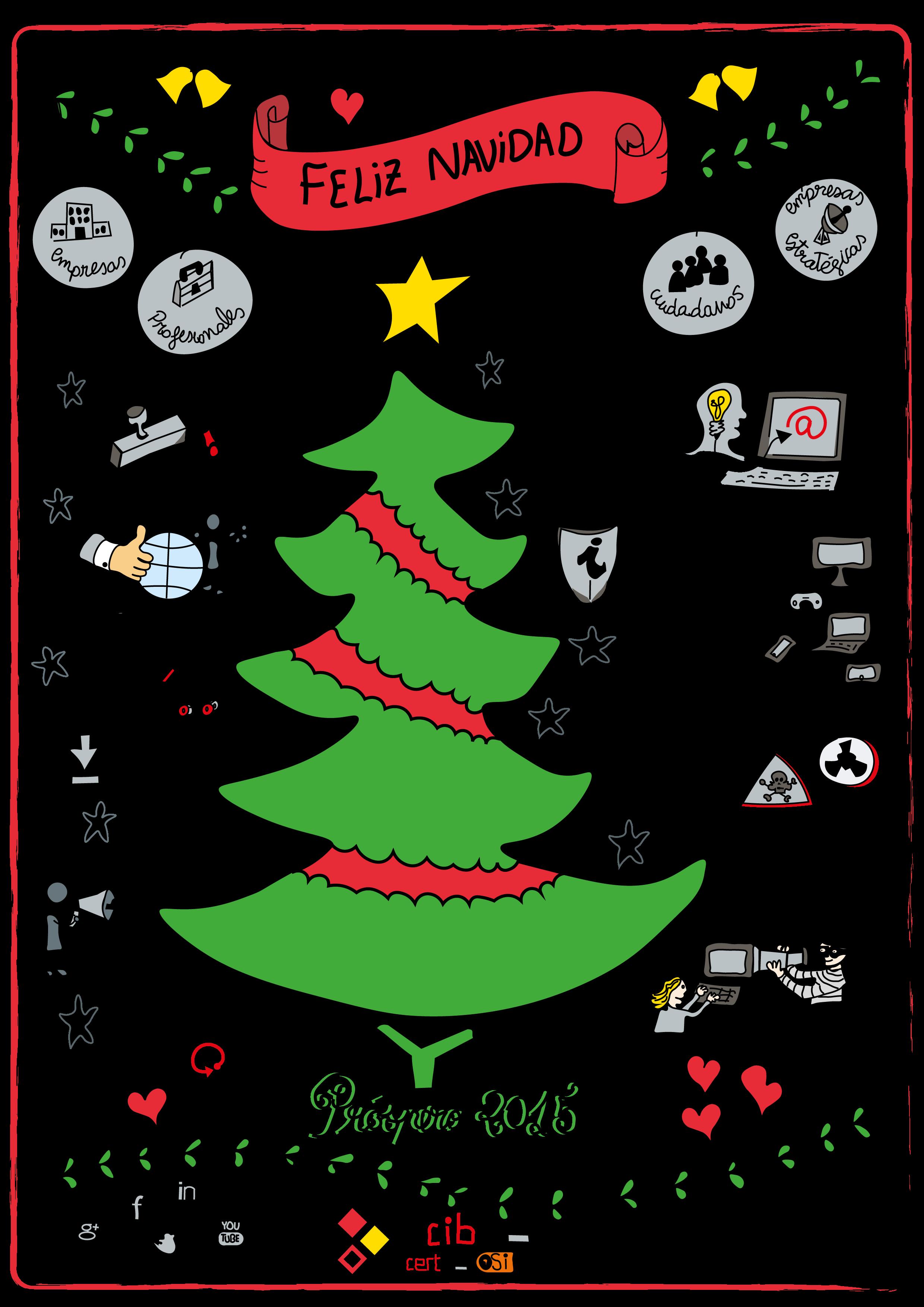 Felicitaciones Navidad Internet.Felicitacion De Navidad Decalogo Seguridad N Internet Para