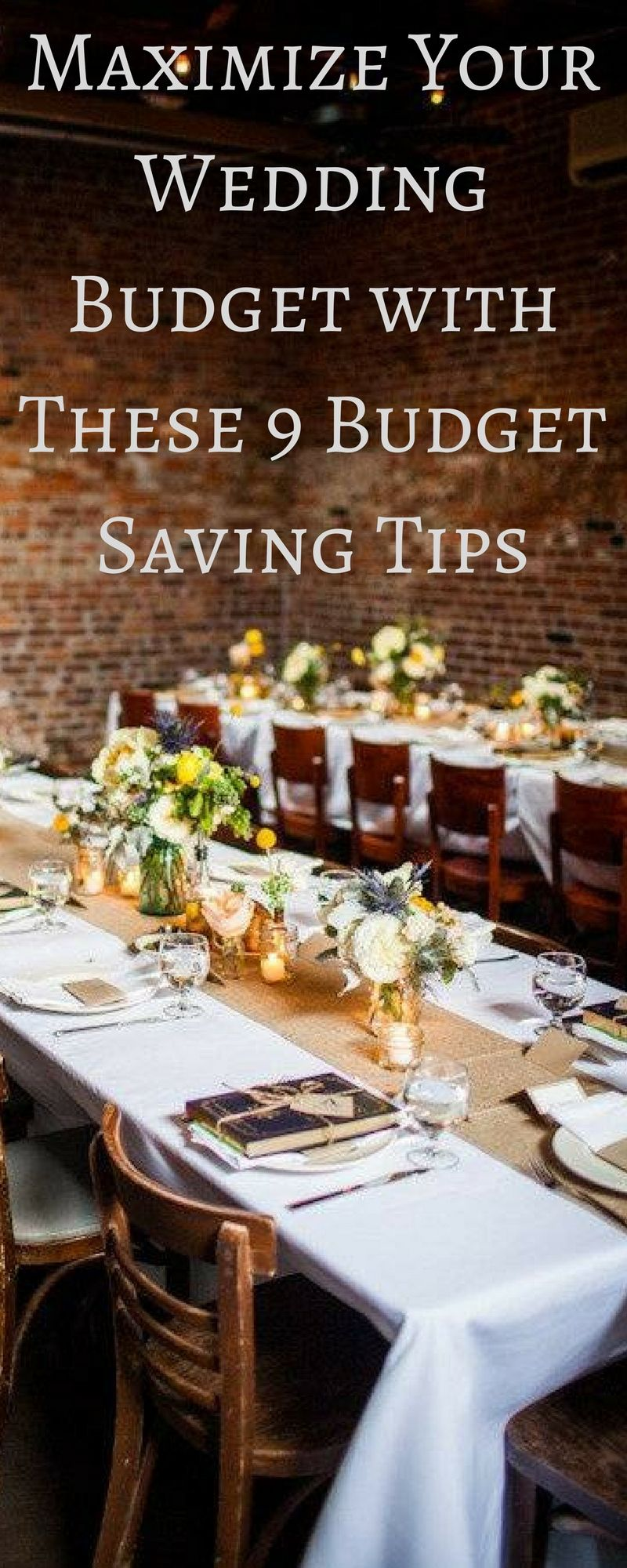 Maximize your wedding budget with these budget saving tips