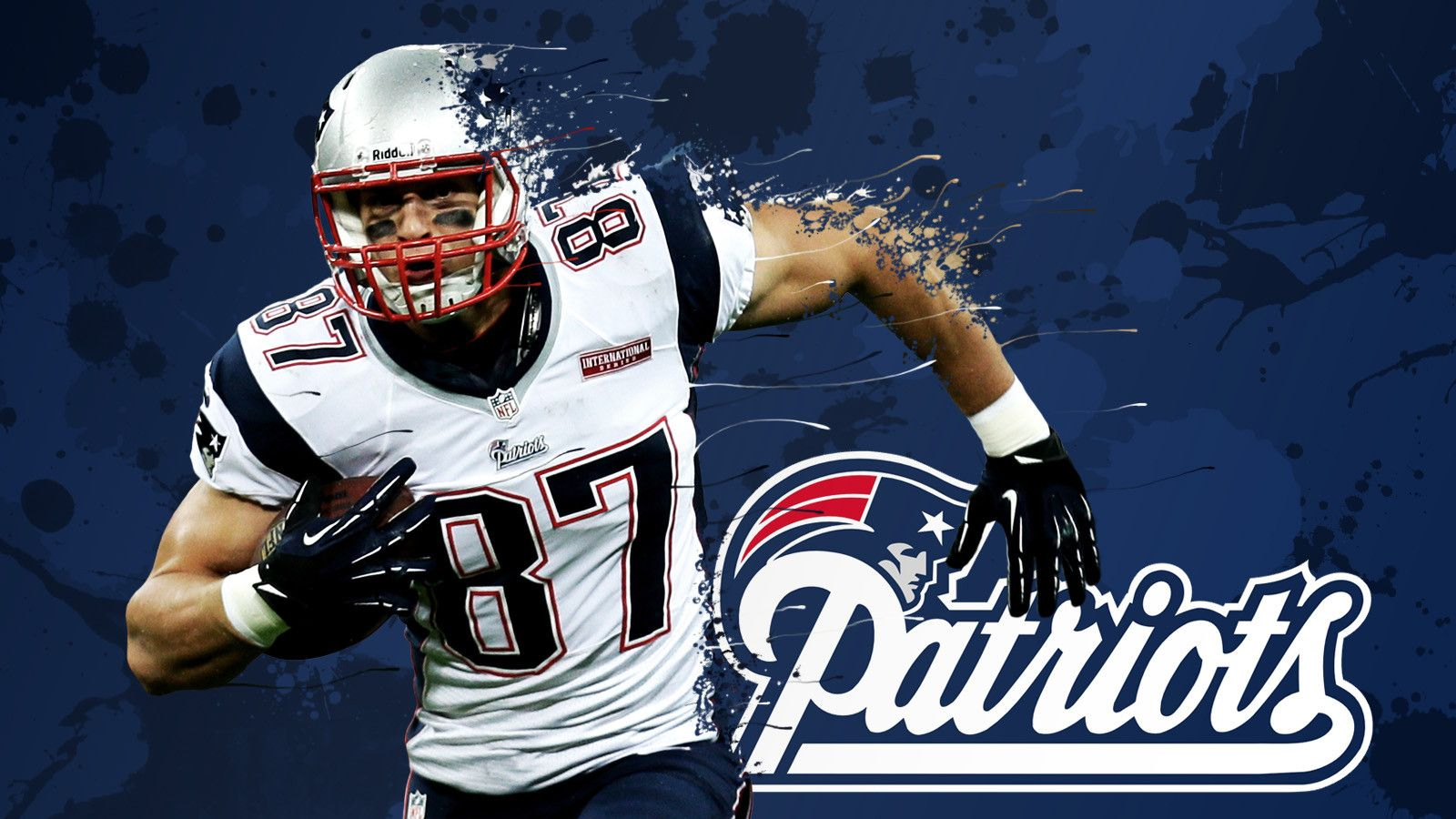 Love My Patriots Rob Gronkowski Equipo
