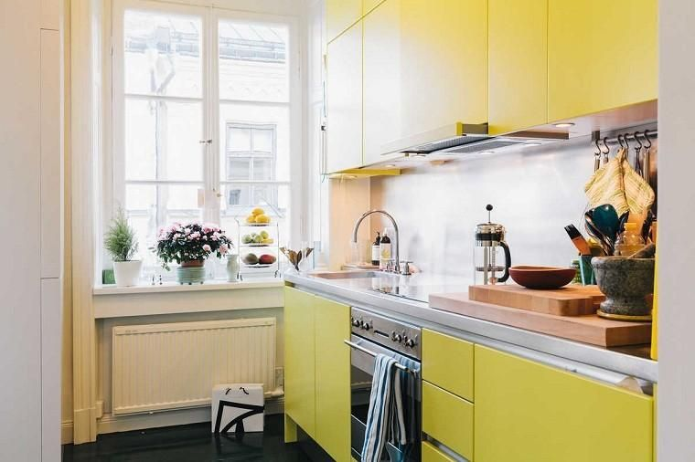 the kitchen yellow and gray together or separately kitchen design small yellow kitchen on kitchen ideas yellow and grey id=79063
