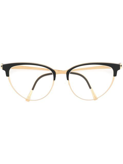 a7f40381d01 Lindberg Cat Eye Glasses - André Opticas - Farfetch.com