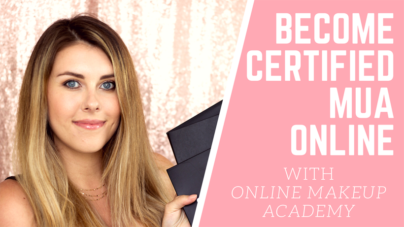 Video Become A Certified Makeup Artist With Online Makeup Academy Online Makeup Makeup Academy Makeup