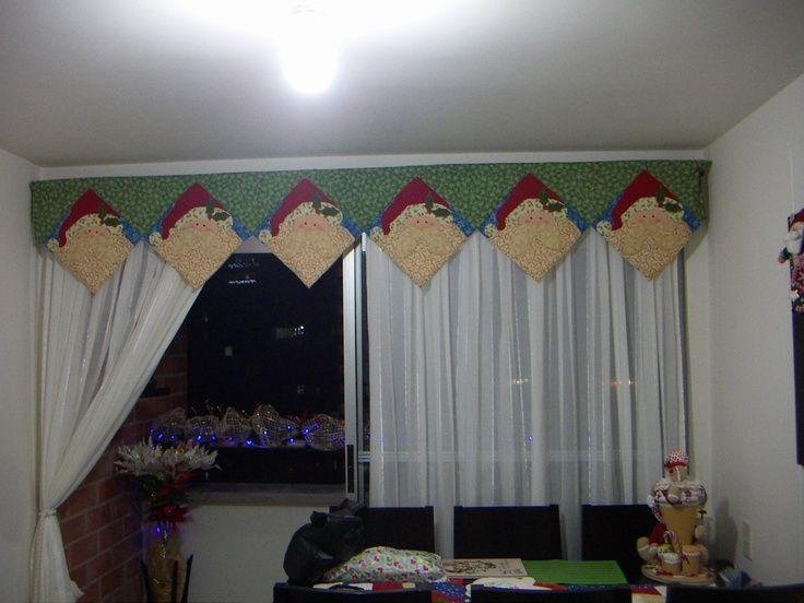 Resultado de imagen para cenefas de cortinas navideñas molde