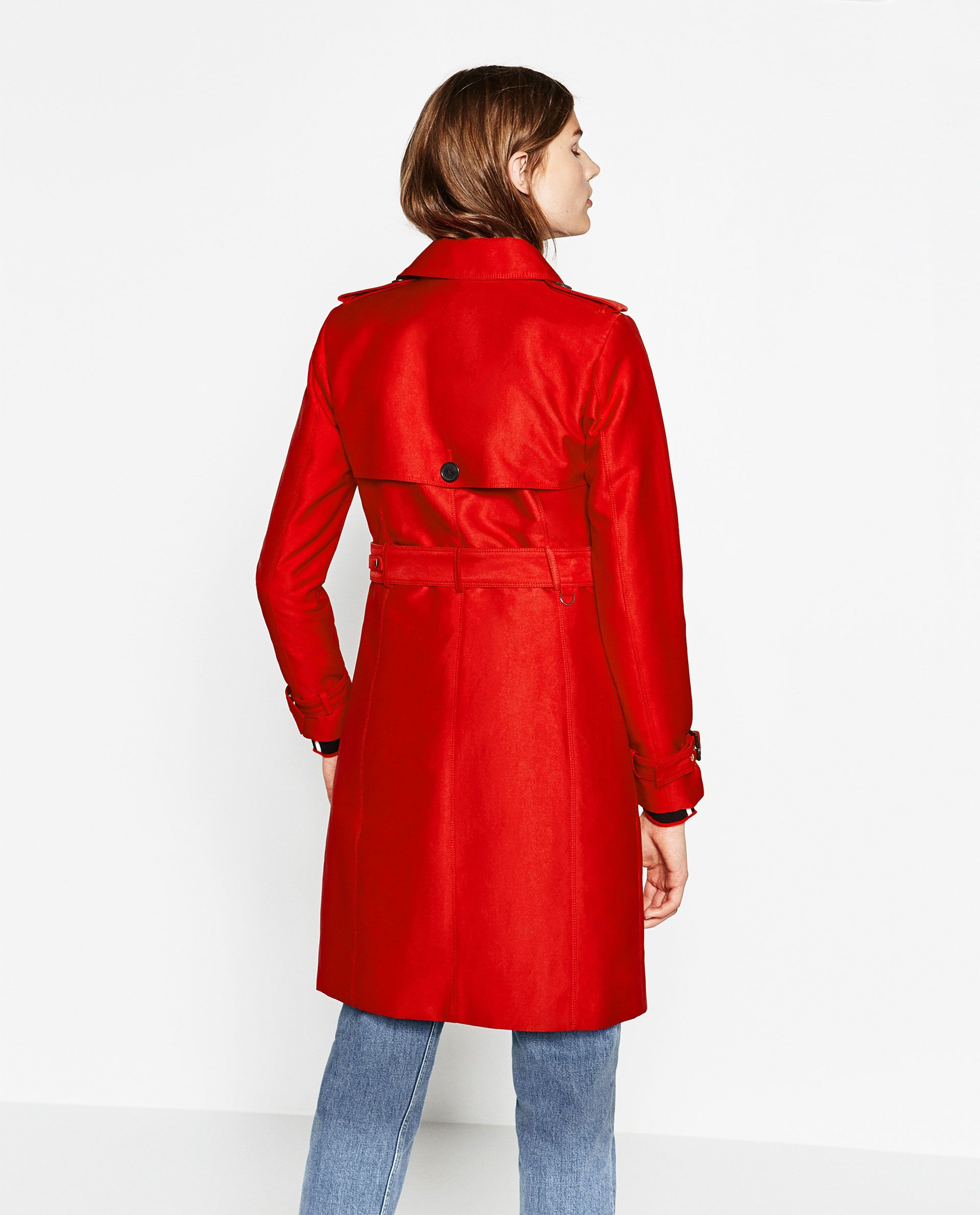 WATER RESISTANT TRENCH COAT