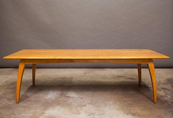 Heywood Wakefield Vintage Mid Century Rectangular Coffee table