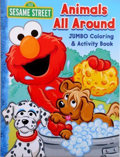 Explore Game Art Elmo And More Sesame Street Coloring Book