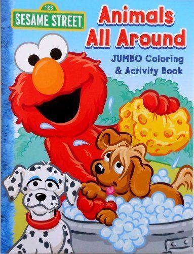 Explore Game Art Elmo And More Sesame Street Coloring Book