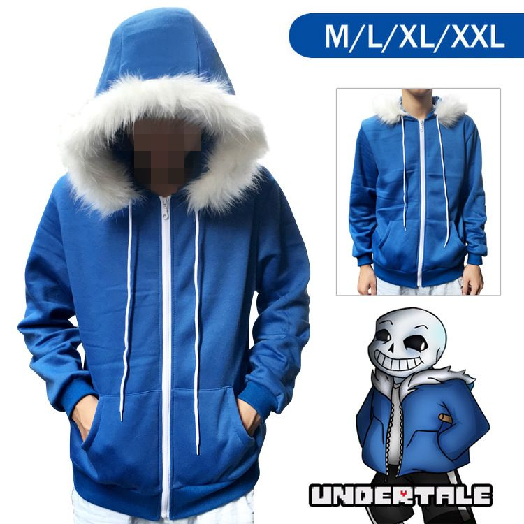 Thin section Pullover Sweater Tops coat  Unisex Cosplay Costume Undertale Frisk