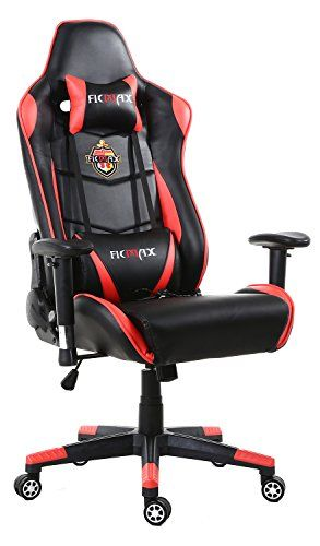 Ficmax Grande Taille Chaise de Bureau Fauteuil Pivotant Gaming