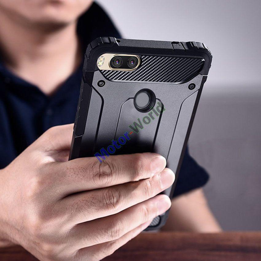 premium selection 83941 779ea 2.61AUD - Heavy Duty Hybrid Armor Shockproof Case For Xiaomi Mi A1 6 ...